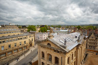 Clarendon Building, as seen from the cupola of Sheldonian Theatre. Oxford University. England