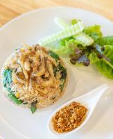 Fried rice fish