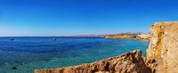 coastline in Sharm El Sheikh