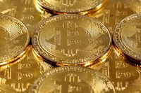 Bitcoin coins super macro