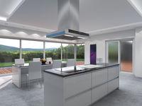 3D rendering modern kitchen