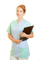 Krankenpflege vom ambulanten Pflegedienst