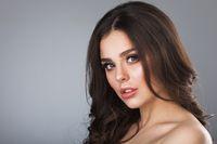 Beautiful woman natural portrait