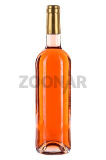 Weinflasche Wein Flasche Rosewein Rose freigestellt Freisteller
