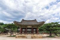 Haminjeong pavilion in changgyeonggung palace