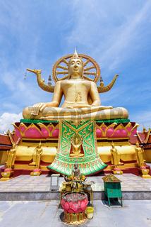Big Buddha Temple at Koh Samui