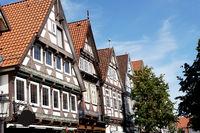 historische Fachwerkhäuser in der Altstadt von Celle