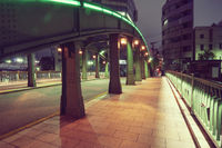 night path in Tokyo