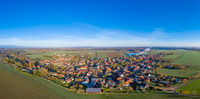 Luftbildaufnahme von Dankerode im Harz