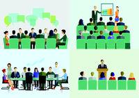 Lehrgang, Vortrag, Bildung.eps