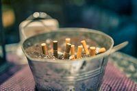 Zigarettenkippen