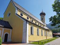 Kirche, St. Martin, Fischbachau