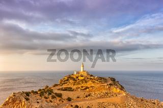 Mallorca Cap Formentor Leuchtturm Meer Textfreiraum Copyspace Himmel Balearen Reise Reisen Spanien