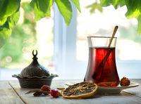 Fresh turkish tea