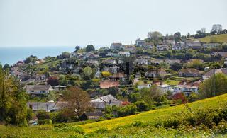 The fishing village of Beer on East Devon's Jurassic Coast. England