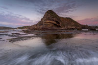 Dawn hues at North Turimetta Headland