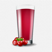Juice Of Cranberry Transparent Background