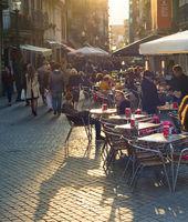 street restaurant Old Town Porto