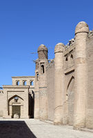 Uzbekistan. Khiva. Ancient city wall.