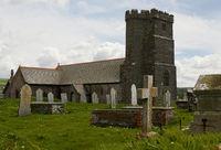 St Materiana Kirche -  Tintagel - Cornwall - UK