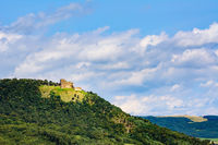 Landscape with castle on the hill