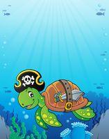 Pirate turtle theme image 3
