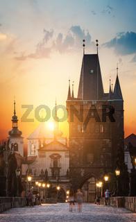 Prague at dawn