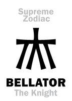 Astrology: Supreme Zodiac: BELLATOR (The Warrior / The Knight) = Hercules