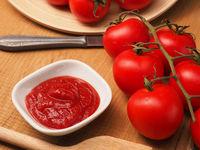 Tasty organic tomato sauce