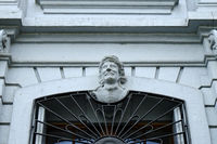 Maske, Blaues Haus, Basel