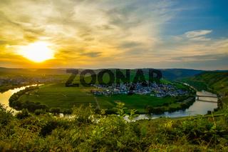 Leiwen  Dorf an der Mosel