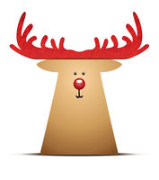 A Reindeer Christmas Decoration Element
