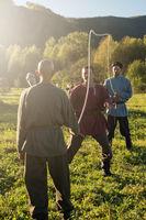 descendants of the Cossacks in the Altai