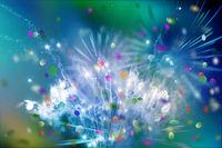 feuerwerk farben lichter konfetti