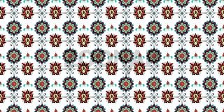 Ikat floral pattern