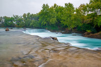 View of falls of Manavgat in Turkey