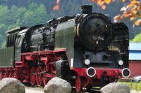 Dampflokomotive im Schwarzwald