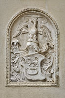 Bas-relief in the Form of a Coat of Arms