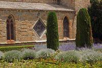 Lagrasse Klostergarten
