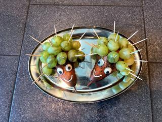 Obst Dekoration