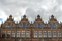 oldtown of Gdansk in Poland