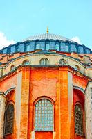 The Hagia Sophia in Istanbul