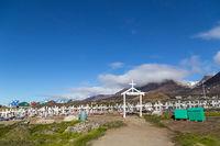 Qeqertarsuaq Cemetery, Greenland