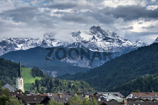 Landscape pictures Garmisch-Partenkirchen in autumn