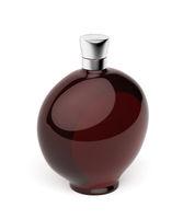 Red liqueur bottle
