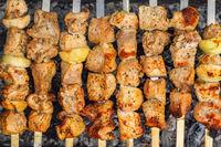 Caucasian shish kebab