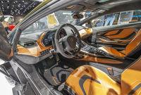 Cockpit eines Lamborghini Sian