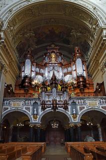 Orgel und Orgelempore,   Berliner Dom, Berlin, Deutschland