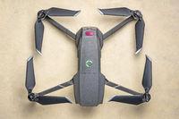 DJI Mavic 2 pro drone top view