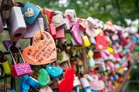 Love Locks at N Seoul Tower